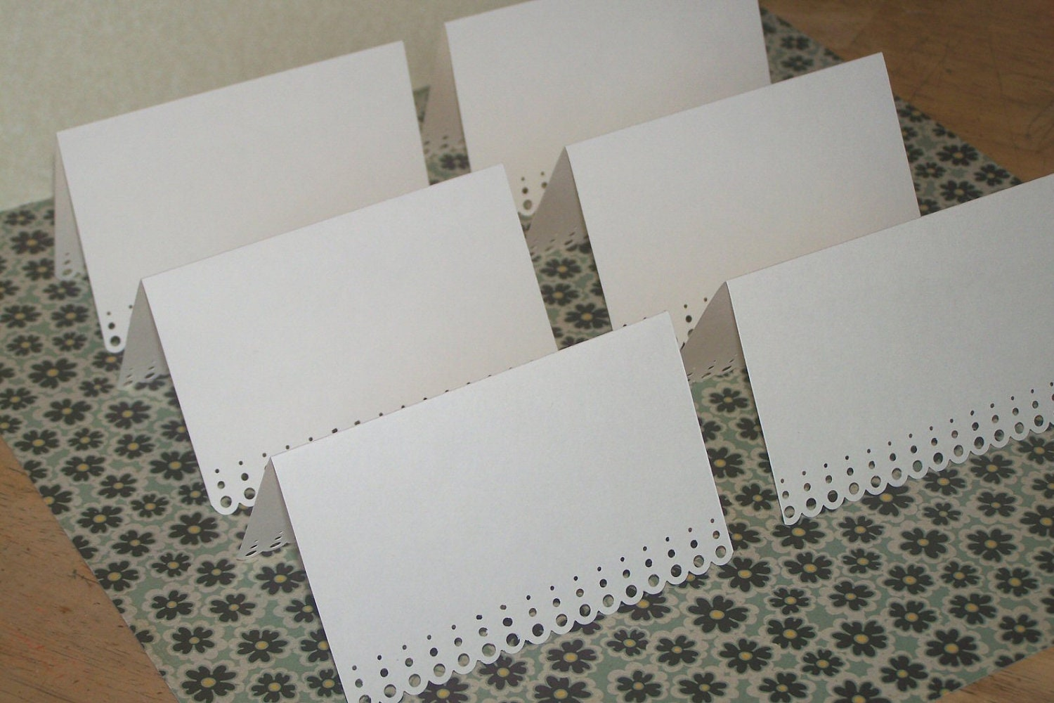 Place cards for wedding bridal shower by for Place card for wedding