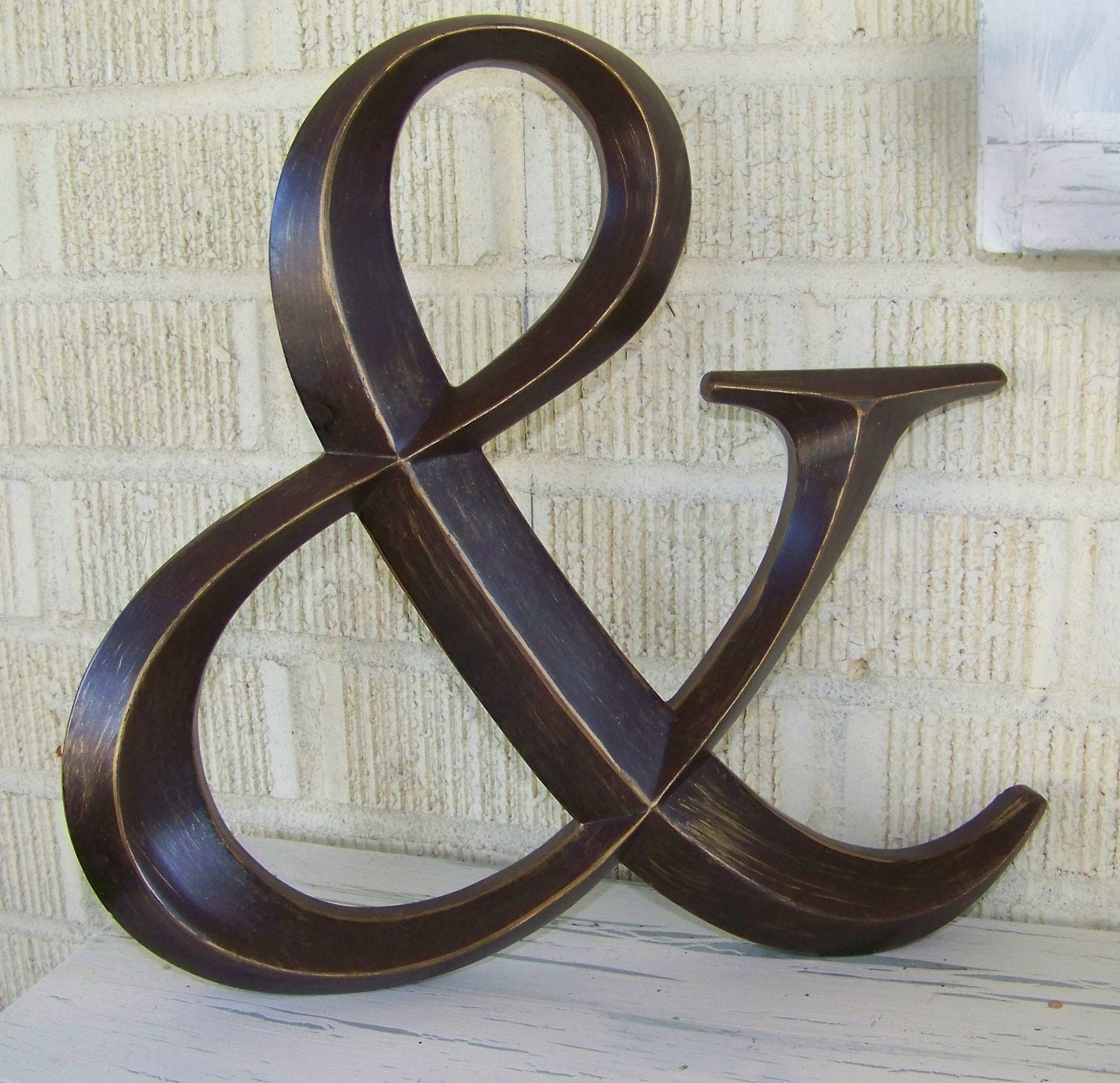 Ampersand symbol wedding decor wedding ampersand symbol for Ampersand decor