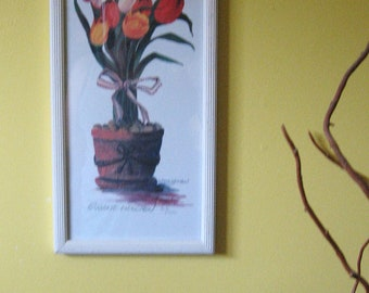 """Gallery Print of  """"Tulips"""" by Eugene Wee Chen -Signed"""