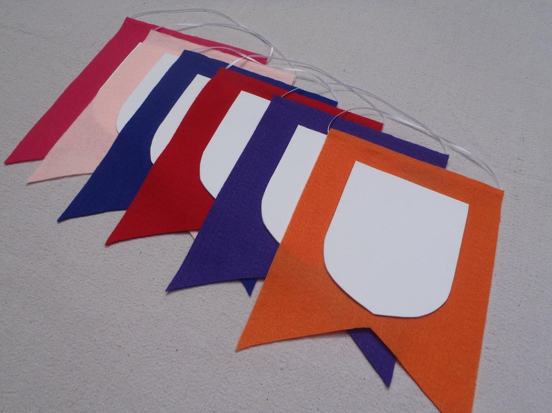 DIY Party Banner Crest Craft Kits Princess Dragon Knight