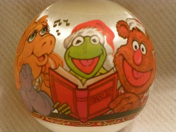 THE MUPPETS 1980's Hallmark Christmas Ornament