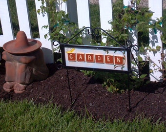 Garden sign for your gardens and flower beds.