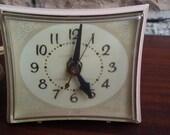 Vintage Pink Retro Clock