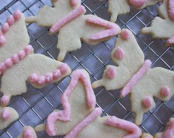 Vanilla Sugar Butterfly Cookies - 2 dozen