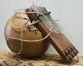 """African-style """"thumb piano"""" (issanji)            FREE DOMESTIC SHIPPING"""