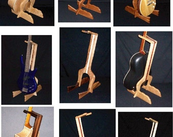 Custom Handcrafted Guitar Stands