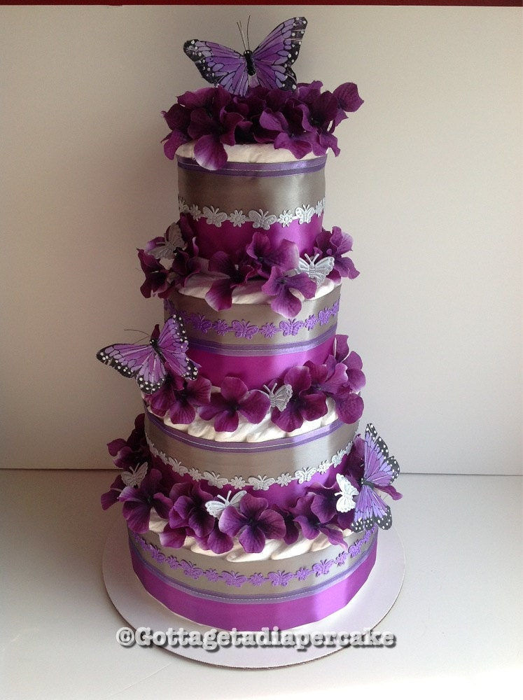 Four Tier Cake In Cellophane
