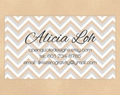 Business Card, Calling Card, Mommy Card - Digital, Printable