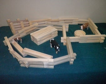 Ranch Play Set Toy Fence, Ranch Play Set