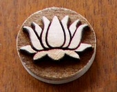 Stock Clay Stamp - Lotus flower (SD179)
