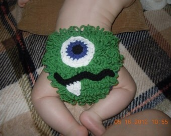 Baby Boy or Girl Hairy Monster Diaper Cover, Customizable to Your Favorite Colors!