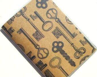 Passport Case Holder Cover -- Keys