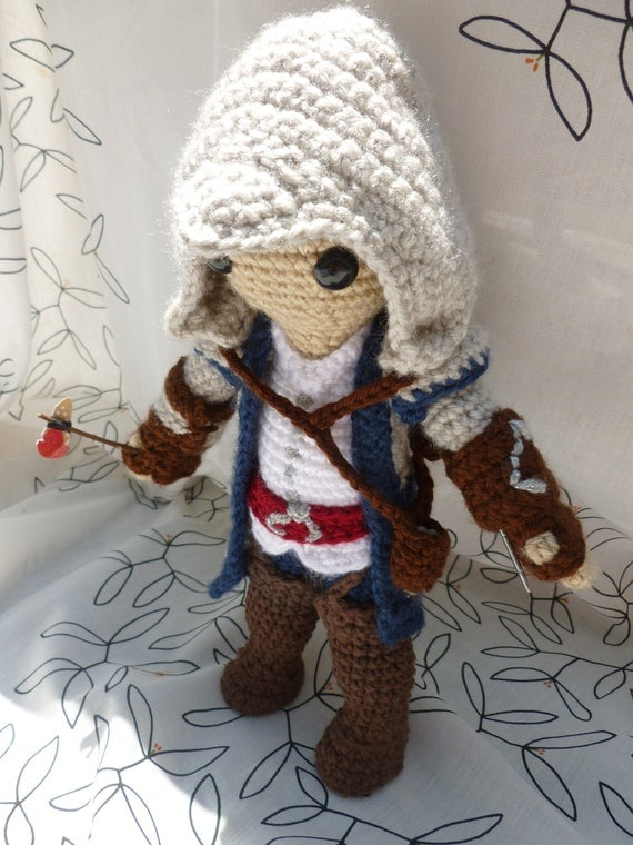 Assassin, Native American Assassin, fan art inspired by Connor from Assassin's Creed 3