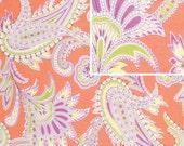 turkish paisley fabric in nectarineGypsy Caravan by Amy Butler 1 yard