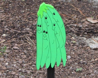 Vegetable Garden Marker - The Bean Brothers