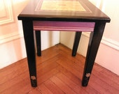 Small side table 17 3/4 high 15x15 wide