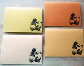 """Animal Babes - Autumn Tones Card Set """"Tinker"""""""