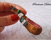 Miniature dollhouse Jamon pata negra