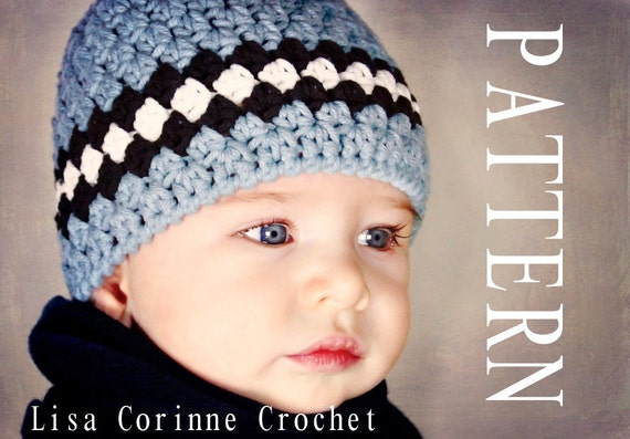 Newborn Boy Knit Hat Pattern Kitchen