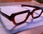 Vintage Tortoiseshell Eyeglass Frames- New Old Stock
