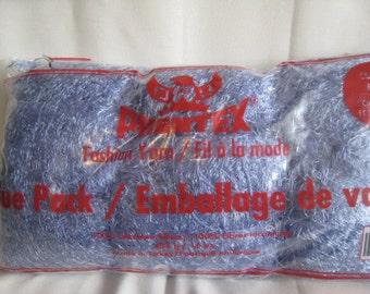 Blue Yarn, Crochet Yarn, Knitting Supplies, Eyelash Yarn, Craft Supplies, Yarn Balls