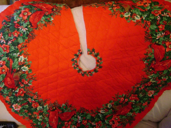 Best 28 Christmas Tree Skirt Panels Vintage Lady And