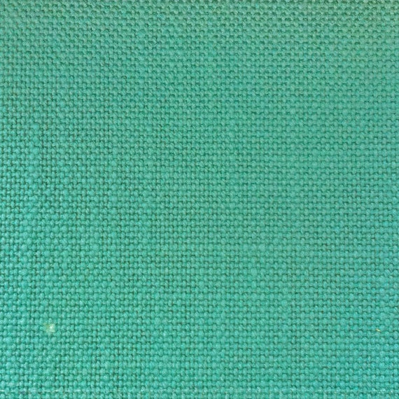 Teal Heavy-weight Canvas Upholstery Fabric