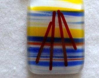 Fused Glass Pendant (1)