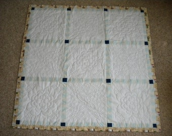 Hand Quilted Throw