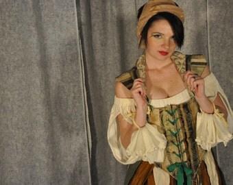 Taja Gypsy bodice renaissance costume