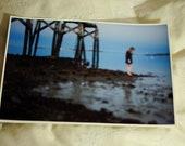 shoreline, color digital print