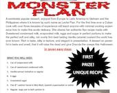 SECRETS EXPOSED Halloween Monster Caramel Custard Flan 30 years in the making