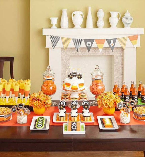 CANDY CORN Party PRINTABLE Halloween Collection from The Celebration Shoppe