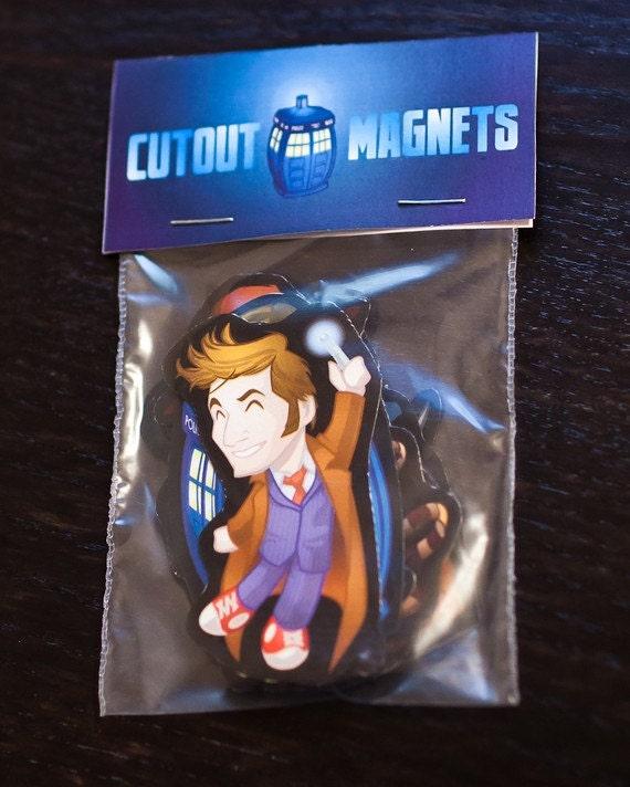 Doctor Who Magnet Set