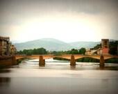 Bridge in Florence 8X10 Photograph