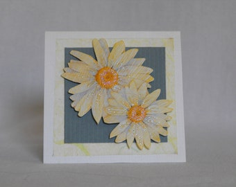 Daisy Gift Enclosure Card with Envelope