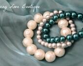 Stackable Pearl Bracelet (15)