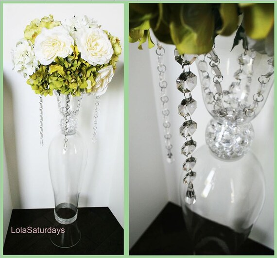Items similar to 35 grand centerpieces custom made for Grand vase decoration salon