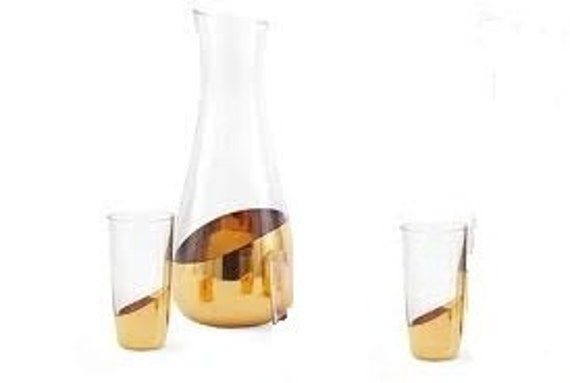 Haughty Heffa Carafe And Glass Set