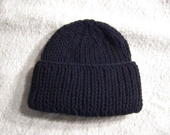 Black Knit Hat