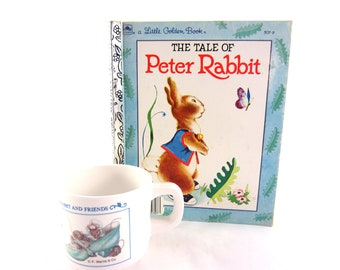 Peter Rabbit Book and Cup