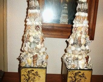 Seashell Topiary