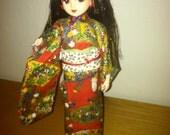 Takara Japanese Jenny Doll - Traditional Kimono Licca