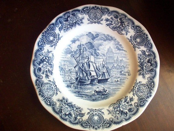 Historical Ports of England Plate-The Port of Bristol