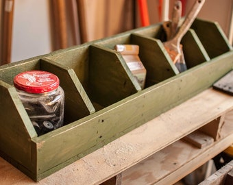 Handmade 5 Pocket Storage Cubby - Made of Reclaimed Wood