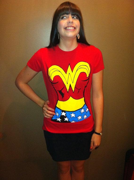Women's Wonder Woman Novelty Tee Shirt
