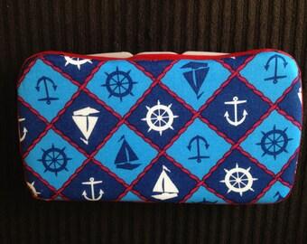 Custom Boutique Style Travel Wipe Case - Sailor