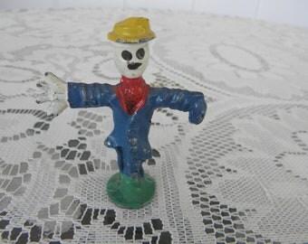 Manoil Happy Farmer Scarecrow