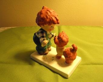 "Charlot Bjy Goebel Red Head  ""Atta Boy"" Figurine"