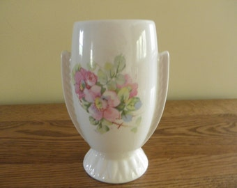 Lovely Flowerd Vase with Deco Styling